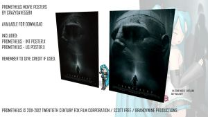 DL - Prometheus Movie Posters by CrazyDave55811