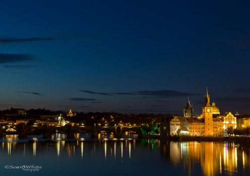 Prague Evening by 1shotaway