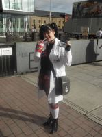 London MCM Expo - N.C.I.S. Abby Cosplayer. by DoctorWhoOne