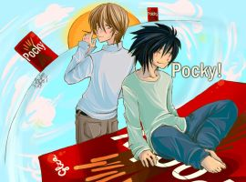 DeathNote: Pocky by DoOp