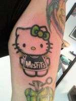 Misfit Hello Kitty by chopperkid13