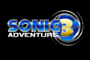 my sonic adventure 3 logo by vsyiio2010