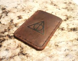Harry Potter Deathly Hallows Cedit Card Holder by Spoon333