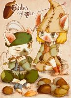 Fables of Mice by Quezsam