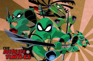 the ninja turtles by jamce