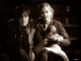 In A Perfect World: Daryl and Beth by aireabella