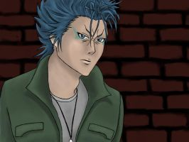 Grimmjow my muse by miss-elli