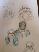 Sans Sketches by Vanna-Wringer