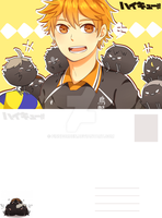 Haikyuu!! Postcard by finnborden