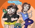 Game Grumps Cartoonimen by NewtMan