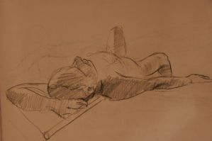 Stu Relaxing on the Floor by gtothemaximpower
