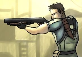 Chris Redfield by Tigrshark
