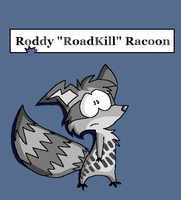 RoadKill Racoon by Shadow-Chippie