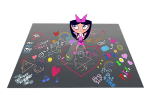 Isabella - Chalk Art by RJolih-99