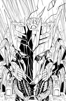 TF MTMTE 07 cover lineart by markerguru