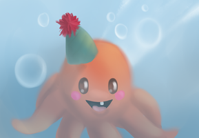 Birthday Octopus by scamper696