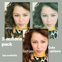 2 actions pack- Cute actions by lovelielife