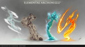 Rise and Conquer - Elemental Archon by b-cesar