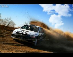 evo IX RALLY by gtimages