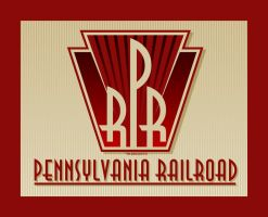 PRR Art Deco Logo by yankeedog