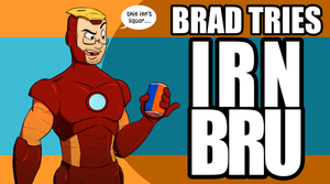 Brad Tries Irn Bru by Pyrotech07