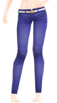 MMD Nakao Pants Edit DL by 2234083174