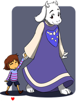 Goat mom! by kprovido
