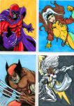 X-men Sketch Card series part 2 by thEbrEEze