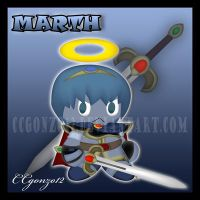 Marth Chao by CCgonzo12