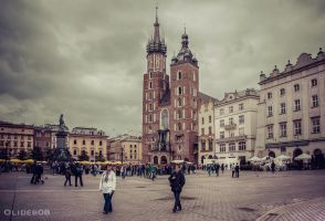 Main square of Krakow by olideb08