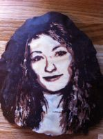 Chocolate painting practise: Sarah by ionakate
