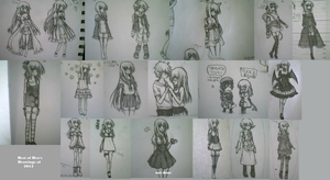 Best of Heo's Drawing of 2013 by heophtia