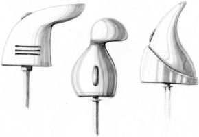 Hand mixer sketches by CariSketching