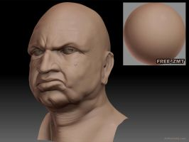 Free ZBrush Material - 02 by Art-by-Smitty