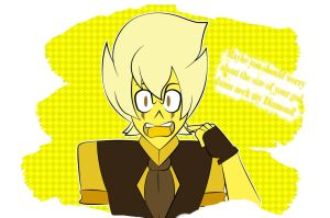 the hell with ya yellow Diamond! by Flipsy529