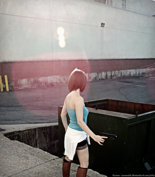 This Isn't The End-RE3 Jill Valentine Cosplay by Hamm-Sammich