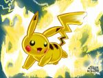 Pikachu uses Thunderbolt by LinaLeonheart