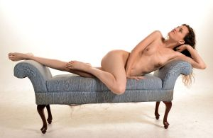 Nude on Couch by DenH2oson