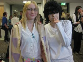 OMG Howl and L by XitsxveryxdangerousX