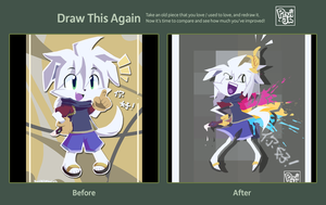 Draw this Again Challenge by PhuiJL