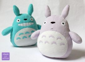 My Neighbor Totoro Plush by yumcha