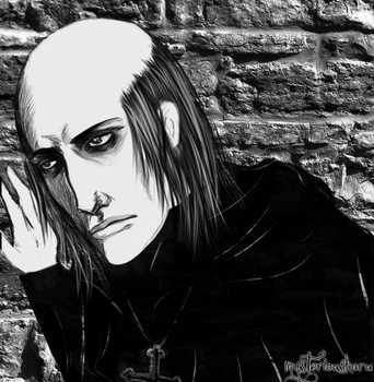 Claude Frollo by mysteriousharu