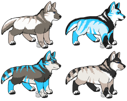 DDL1 litter - CLOSED by WolfbanesAdopts