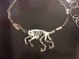 Velociraptor Necklace by savannahrcb