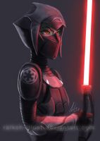 Imperial Inquisitor First Sister by Raikoh-illust