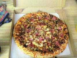 Blake's Smokehouse BBQ Pizza by BigMac1212