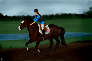 It's Impolite To Run, Miss by HoofHaven