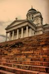 The Helsinki Cathedral by silverwing-sparrow