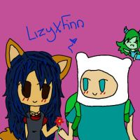 LizyXFinn (request) by SophiaTheRose