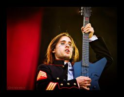 Jared Leto and guitar by PatrickWally